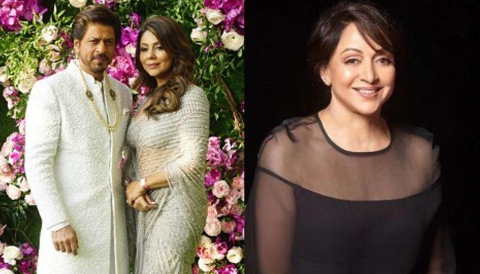Did You Know Shah Rukh Khan And Gauri Khan's First Night Was Ruined By Hema Malini? Here Is How