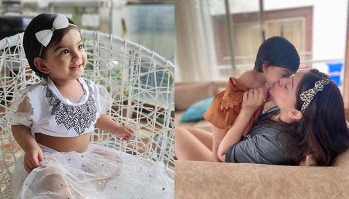 Jay Bhanushali And Mahhi Vij's Baby Girl Tara Turns Into A 'Desi' Princess In A Suit, Looks Adorable