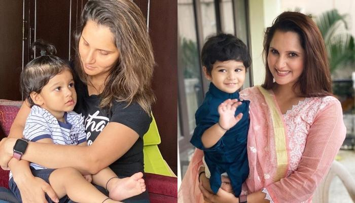 Sania Mirza Shares The Cutest Video Of Her Baby Boy, Izhaan Mirza Malik Doing A 'Happy Dance'