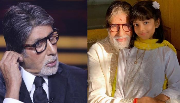 Amitabh Bachchan Reveals What His Granddaughter, Aaradhya Bachchan Taught Him About Coronavirus