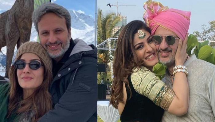 Raveena Tandon Shares An Adorable Birthday Wish For Hubby, Anil Thadani, Thanks Him For Loving Her