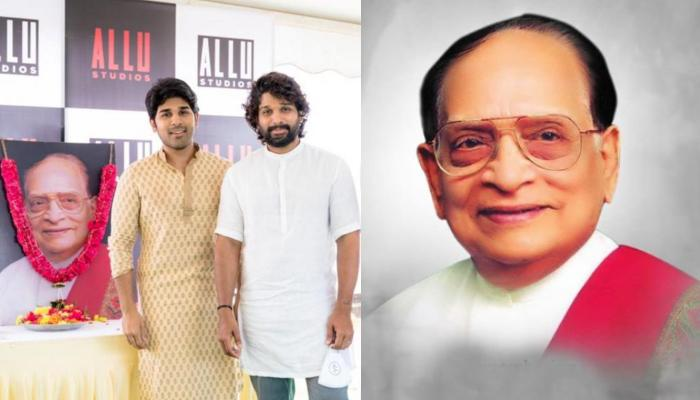Allu Arjun Inaugurated 'Allu Studios' As A Tribute To His Grandfather, Allu Ramalingaiah's Legacy