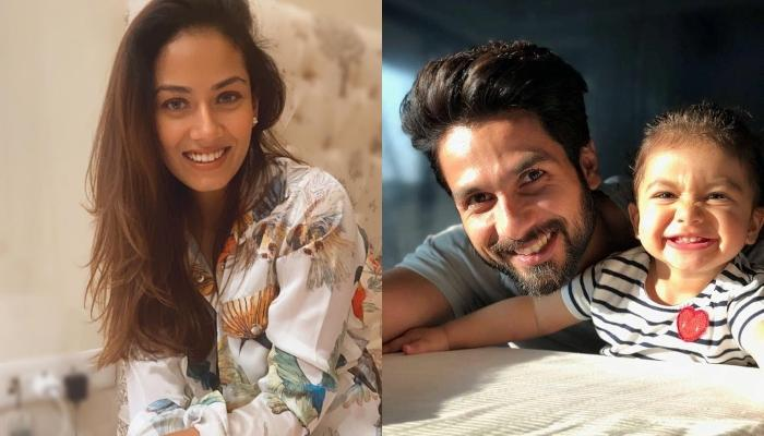 Shahid Kapoor's Baby Girl, Misha Kapoor Follows Mommy, Mira Kapoor's Footsteps And Turns Cake Lover