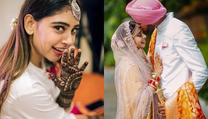 Niti Taylor Opts For A Classy Indo-Western Ensemble For Her Mehendi, Looks Super Cute In Unseen Pics