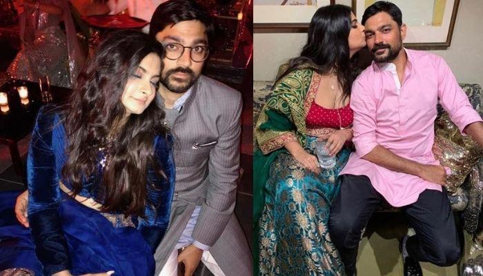 Rhea Kapoor Celebrates Birthday Of Her 13-Year-Long Boyfriend, Karan Boolani With A Kiss [Pictures]