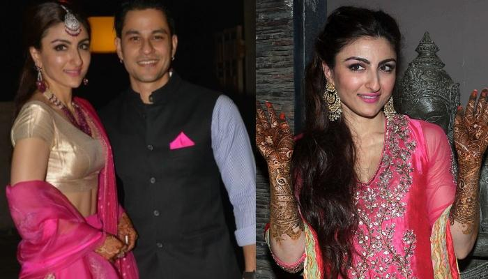 Unseen Picture Of Soha Ali Khan Celebrating Karva Chauth As Newly-Wed, Glows Brighter Than Sunshine