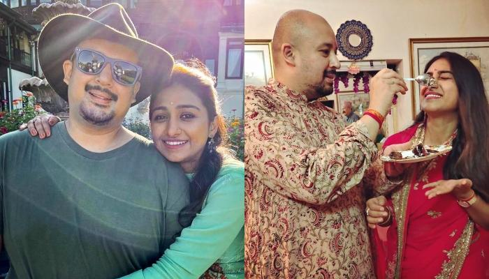 Mohena Kumari Singh Shares A Cute Picture With Her Hubby, Suyesh Rawat From Their Mussoorie Trip