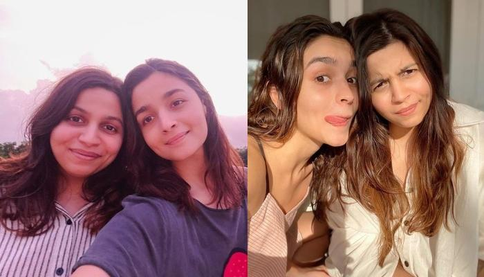 Alia Bhatt Tries The New Instagram Filter By Her Sister, Shaeen Bhatt, Expresses Her Excitement