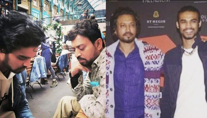 Irrfan Khan's Son, Babil Shares A Picture Of His Tomb, Reveals How His 'Baba' Used To Teach Him