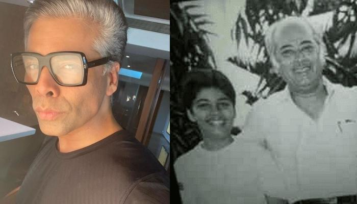 Karan Johar Pens An Emotional Tribute For Father Yash Johar As Dharma Productions Completes 40 Years