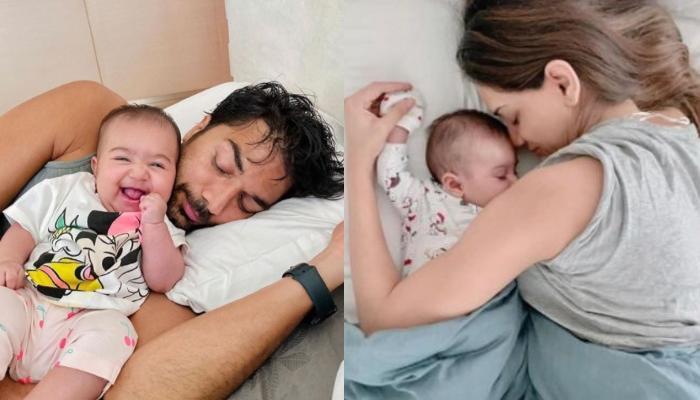 Smriti Khanna And Gautam Gupta's Change In Sleeping Positions After Baby Anayka's Birth Is Hilarious