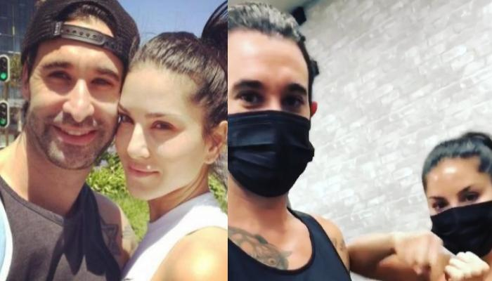 Sunny Leone And Hubby, Daniel Weber Getting Ready For A Boxing Match Is All About Couple Goals