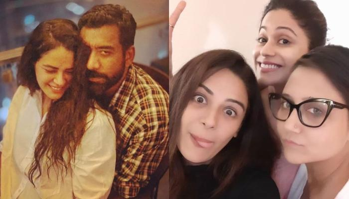 Mona Singh's Hubby, Shyam Surprises Her On 'Black Widows' Sets To Celebrate First B'day Post-Wedding