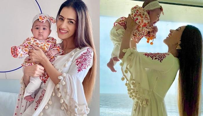 Smriti Khanna Imitates Her 6-Months-Old Daughter, Anayka, Proves That She Is Not A Regular Mommy