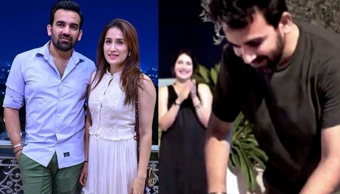 Is Sagarika Ghatge Pregnant? Spotted With A Baby Bump At Zaheer Khan's Birthday Celebrations [VIDEO]