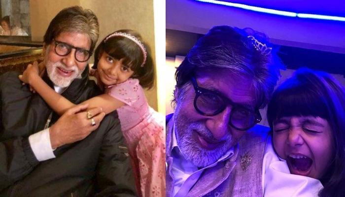 Amitabh Bachchan Twins With Aaradhya Bachchan For His Birthday Celebration, Aishwarya Posts Glimpses