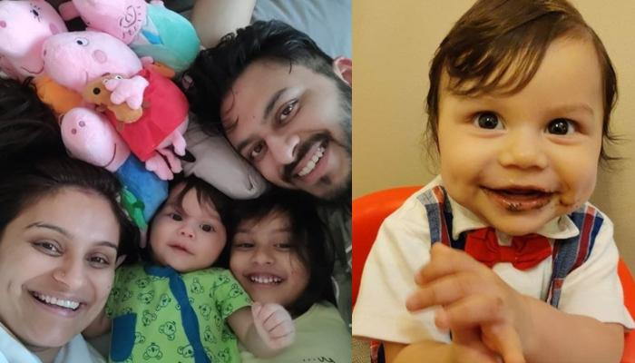 Dimpy Ganguly's 'Little Man' Aryaan Turns Six-Months-Old, She Shares Glimpses Of Their Celebrations
