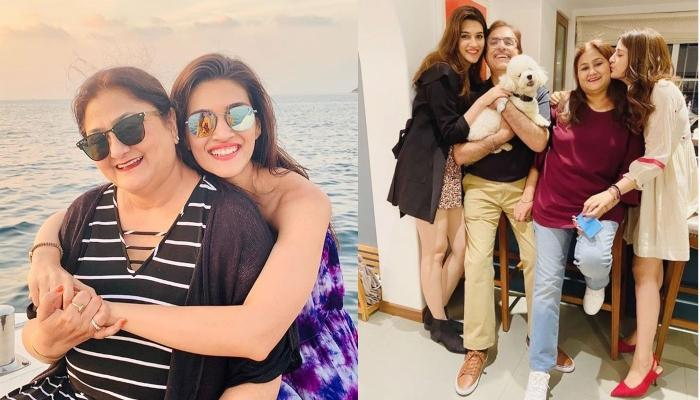 Kriti Sanon Wishes Her Mother, Geeta Sanon On Her Birthday With Amazing Throwback Pool Pictures
