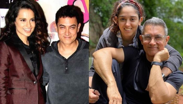 Kangana Ranaut Reacts On Aamir's Daughter, Ira's Battle With Depression, Comments On Broken Families