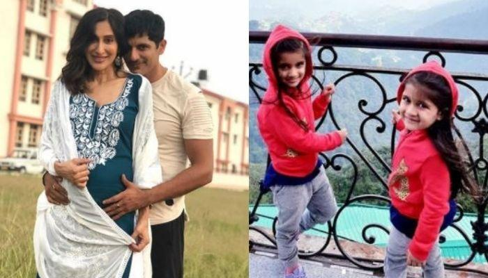 Karanvir Bohra And Teejay Sidhu Go On A Babymoon In Uttarakhand With Their Daughters, Bella-Vienna
