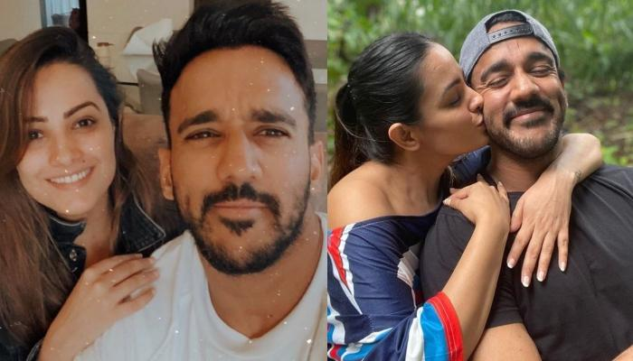 Anita Hassanandani's 7th Anniversary Post For Hubby Rohit Reddy Will Make You Sing 'Mere Haath Mein'