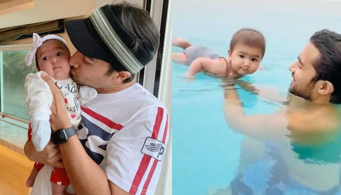 Gautam Gupta Shares Adorable Pool Video Of His Daughter, Anayka Gupta, Calls Her 'A Little Duckling'