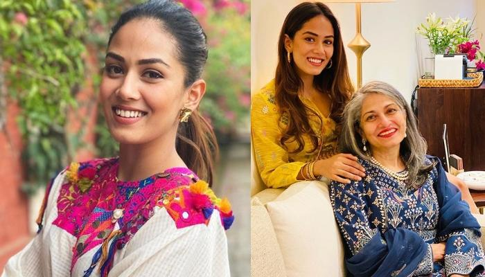 Mira Kapoor Accentuates A Stunning 19k Worth Dress With Her Mother's Bangles, It Screams 'Timeless'