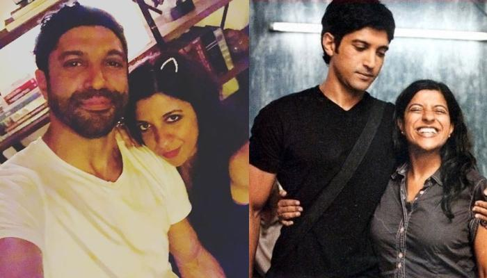 Farhan Akhtar Shares A Funny Childhood Picture With Sister, Zoya Akhtar On Her Birthday