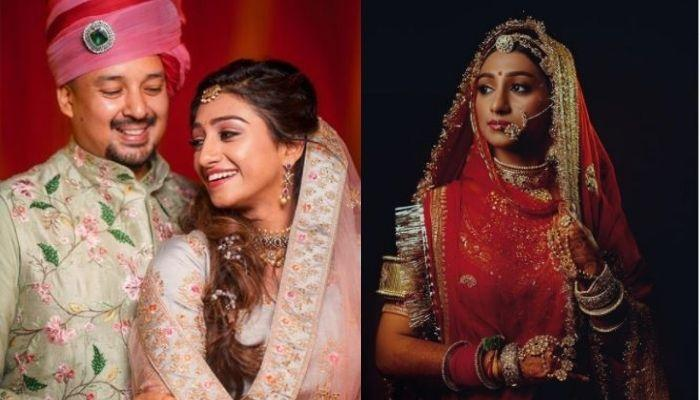 Mohena Kumari Shares 'Haldi' And 'Shaadi' Pictures On Her 1st Anniversary With Hubby, Suyesh Rawat