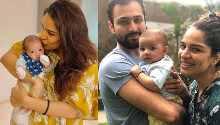 Shikha Singh Shares Pictures Of Alayna's First Day Out To The Garden, The Little Angel Looked Happy