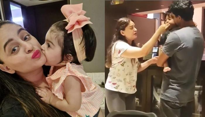 Mahhi Vij Dances As She Tries To Feed Baby Tara, The Struggle Is Real And Every Parent Will Relate