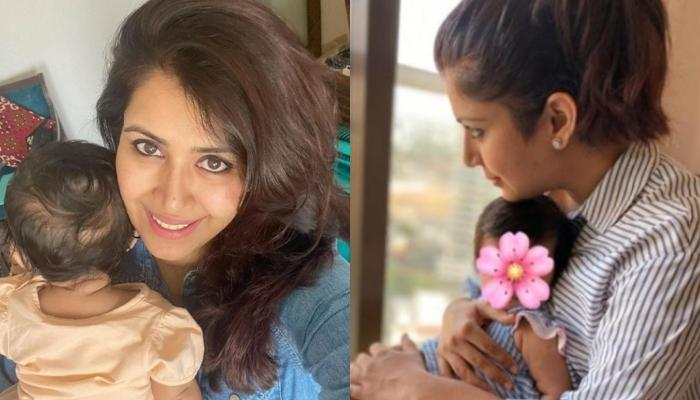 Ankita Bhargava Trolled For Not Revealing Her Daughter, Mehr's Face As She Completes Ten Months