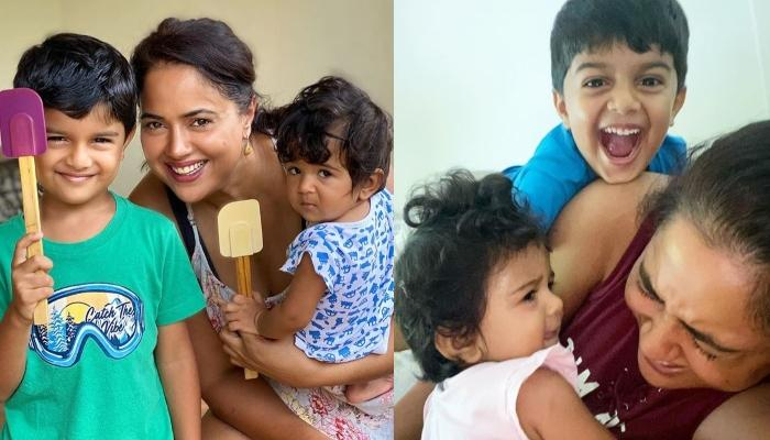 Sameera Reddy Recalls When She Was Pregnant With Her First Kid, Talks About Frustration [Pic Inside]