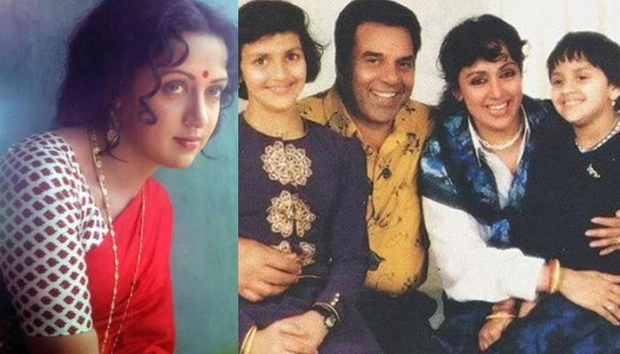 Unseen Pictures Of Hema Malini With Dharmendra And Daughters, Esha And Ahana Exude Pure Love