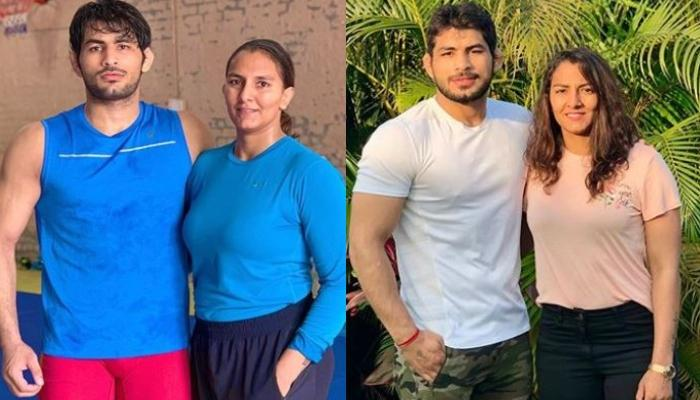Geeta Phogat Wishes Her 'Sweetheart', Pawan Saroha On His Birthday With A Glimpse From Celebrations