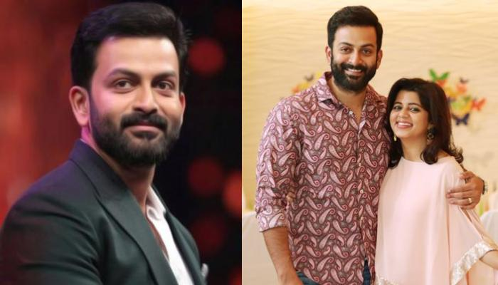 On Prithviraj Sukumaran's 38th Birthday, His Wife, Supriya Menon Brings A Cute 'GOAT' Cake For Him