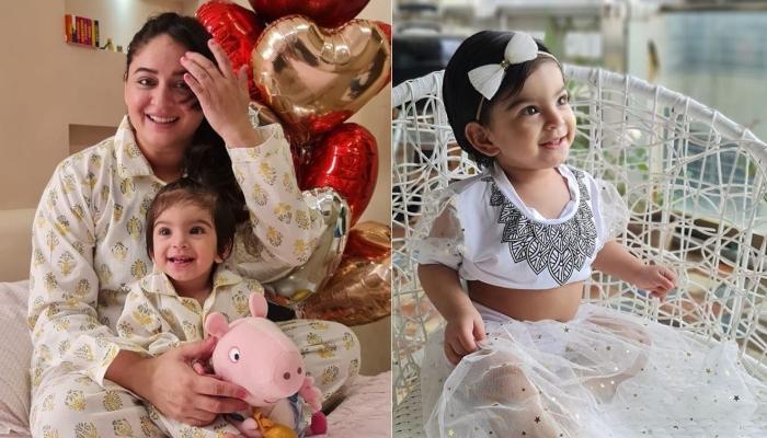 Mahhi Vij Shares Baby Tara's 'First Day Of Navratri' Look, Dazzles In A Red 'Bindi'