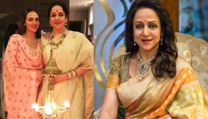 Esha Deol Shares A Glimpse Of Hema Malini's Birthday Celebration, Her Charming Smile Is Unmissable