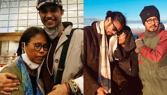Irrfan Khan's Wife, Sutapa Reunites With Their Son, Babil In London, The Latter Shares A Cute Selfie