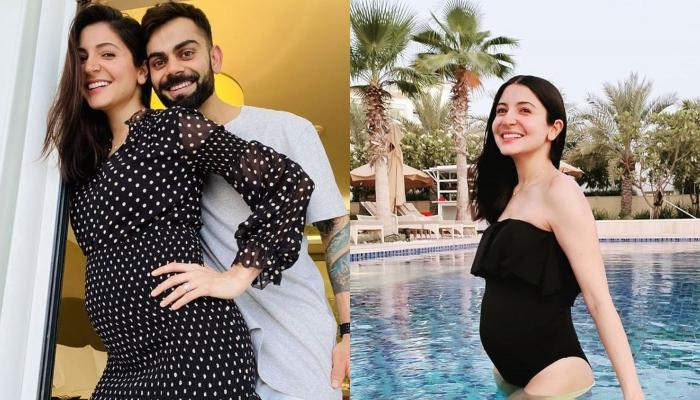 Virat Kohli And Anushka Sharma Enjoy In Pool Post RCB's Win, Virat Reveals Anushka's Delivery Date