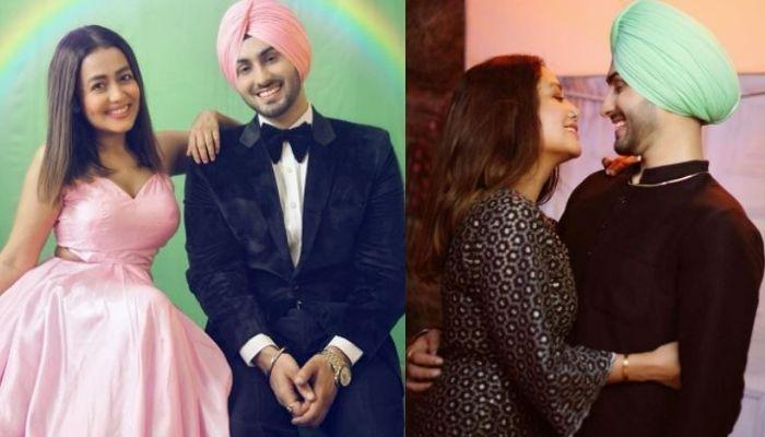 Neha Kakkar Flirts With Husband-To-Be, Rohanpreet As He Practices To Be A Good 'Jiju' Before Wedding