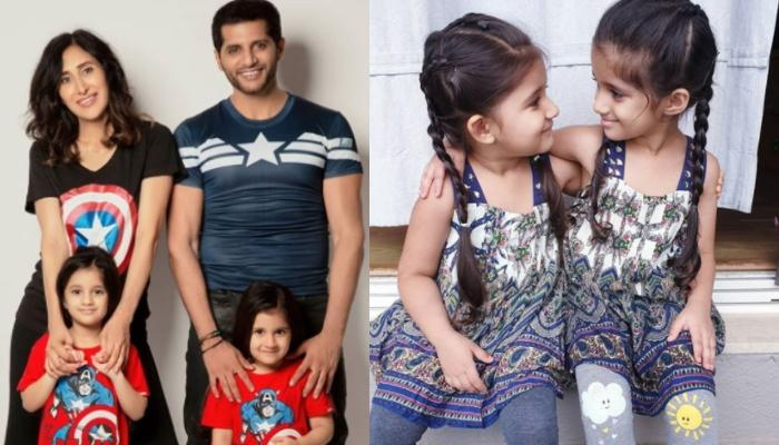 Karanvir Bohra And Teejay Sidhu Pen Heartmelting Wishes For Bella And Vienna On Their 4th Birthday
