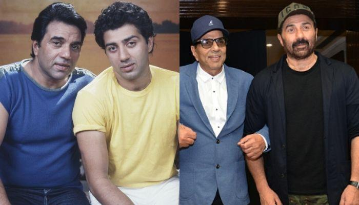 Sunny Deol's Childhood Photo With Father, Dharmendra Proves That He Wasn't Always An Angry Man