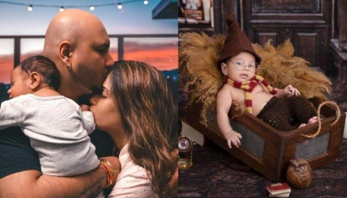 'Teri Mitti' Fame, B Praak's Wife Shares Son, Adabb's Unseen Picture When He Was 2-Days-Old Baby