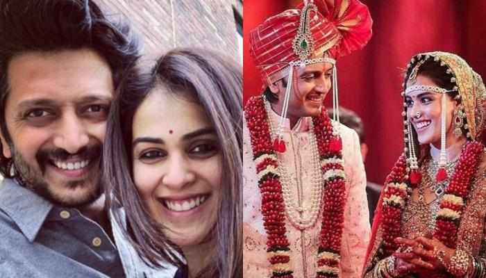 Riteish Deshmukh Gives A Hilarious Reply When Asked Whether He And Genelia Took Pheras Or Oath