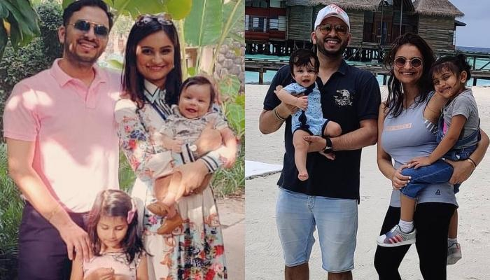 Dimpy Ganguly Shares A Magical Picture With Her Kids From Their Maldives Vacation
