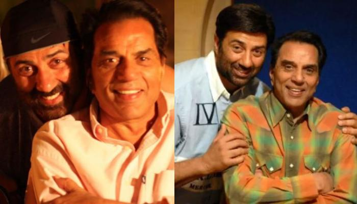 Sunny Deol's Father, Dharmendra Shares Adorable Pictures From His Son's 64th Birthday Celebrations