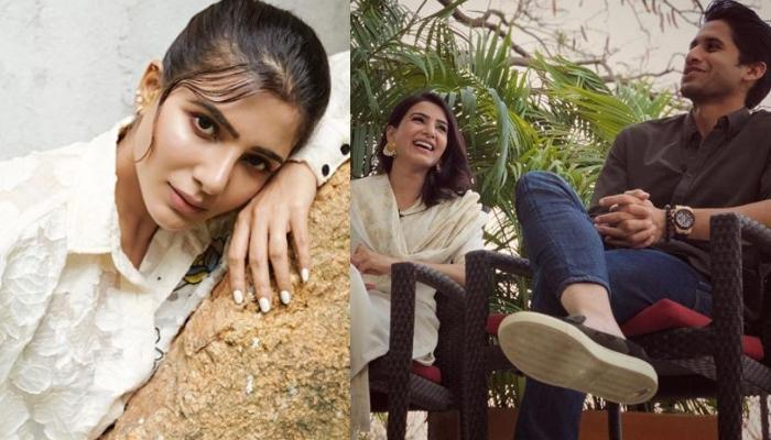 Samantha Akkineni Reveals How She Convinces Naga Chaitanya Before Posting His Photo On Social Media