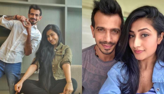 Yuzvendra Chahal Shares Romantic Photo With His Fiancee, Dhanashree Verma From Their Beach Outing
