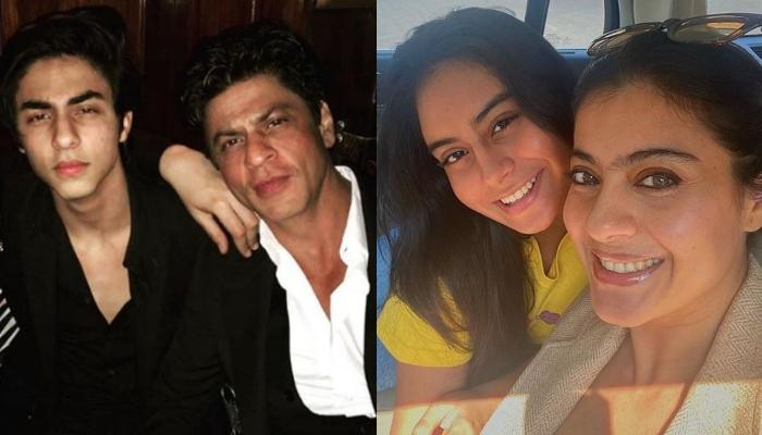 Shah Rukh And Kajol's Hilarious Banter On His Son, Aryan Khan Eloping With Her Daughter, Nysa Devgan
